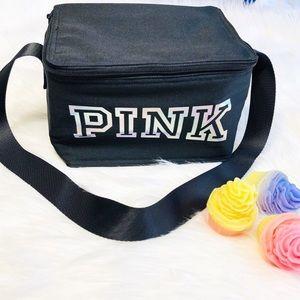 PINK VICTORIA'S SECRET COOLER BAG